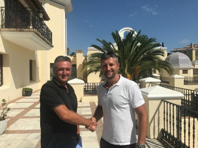 CARL FROCH MBE BUYS HIS LUXURY VILLA THROUGH NUEVA ANDALUCIA LIVING AND SAYS OUR SERVICE WAS UNBELIEVABLE.