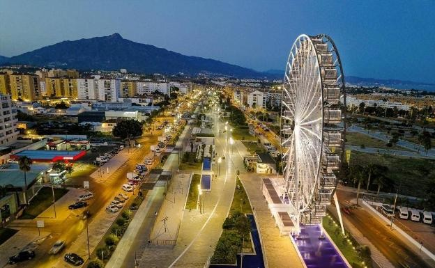 San Pedro, Marbella is to put up a 50-metre-high Ferris wheel with air-conditioned cabins