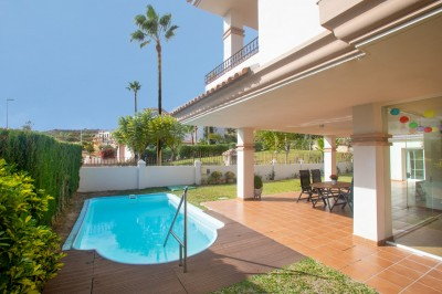 3 Bedroom Ground Floor Apartment in La Cala de Mijas